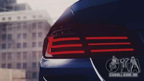 BMW M5 F10 Stock MTA Version para GTA San Andreas vista interior