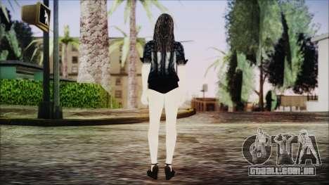 Home Girl Chola 1 para GTA San Andreas terceira tela