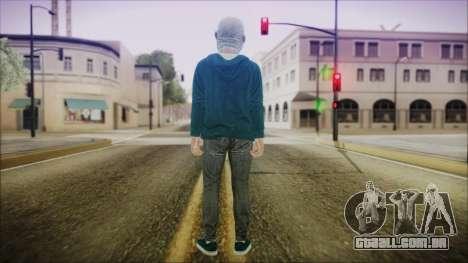 DLC Halloween GTA 5 Skin 1 para GTA San Andreas terceira tela