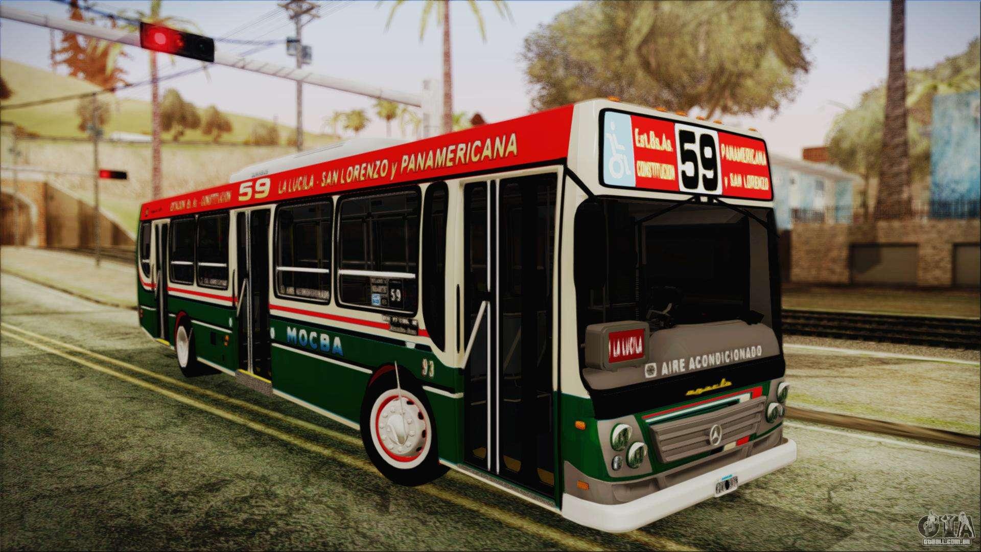 Mercedes benz oh1718l sb linea 59 para gta san andreas for Sb mercedes benz