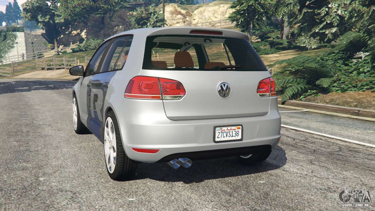 volkswagen golf mk6 v2 0 wrc polo para gta 5. Black Bedroom Furniture Sets. Home Design Ideas