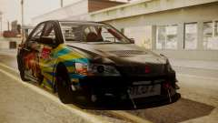 Mitsubishi Lancer Evolution Pushkar