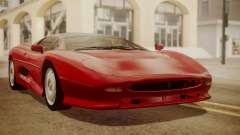 Jaguar XJ220 1992 HQLM para GTA San Andreas