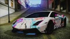 Lamborghini Gallardo LP570-4 2015 Miku Racing para GTA San Andreas