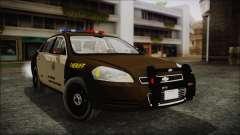 Chevrolet Impala SASD Sheriff Department para GTA San Andreas