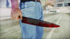 Helloween Butcher Knife para GTA San Andreas