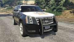 Cadillac Escalade ESV 2012 Police
