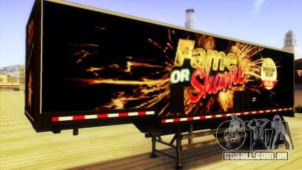GTA V Fama ou Vergonha Trailer para GTA San Andreas