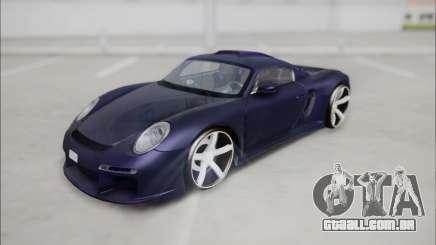 Ruf CTR 3 2015 para GTA San Andreas