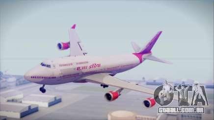 Boeing 747-437 Air India Tanjore Old Skin para GTA San Andreas