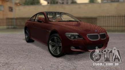 BMW M6 E63 para GTA San Andreas