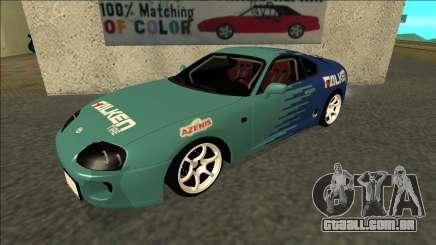 Toyota Supra Falken Drift para GTA San Andreas