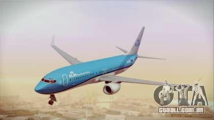 Boeing 737-800 KLM Royal Dutch Airlines para GTA San Andreas