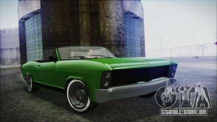 GTA 5 Albany Buccaneer Hydra Version IVF para GTA San Andreas