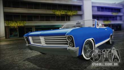 GTA 5 Albany Buccaneer Hydra Version para GTA San Andreas
