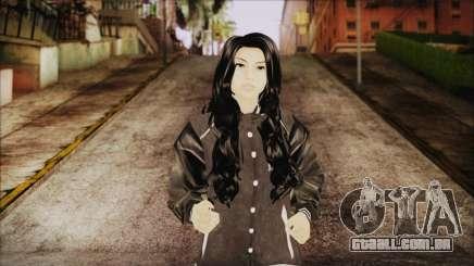 Home Girl White Pants para GTA San Andreas