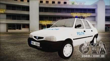 Dacia Solenza Politia para GTA San Andreas