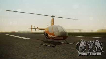 Robinson R-22 de Seguridad Vial para GTA San Andreas