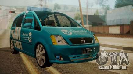 Chevrolet Meriva de Seguridad Vial para GTA San Andreas