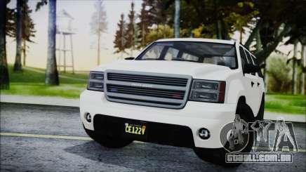 GTA 5 Declasse Granger FIB SUV para GTA San Andreas