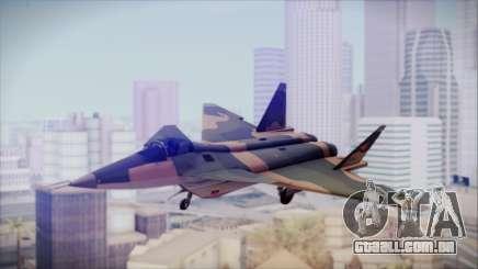 Mikoyan MIG 1.44 Flatpack Venezuelan Air Force para GTA San Andreas