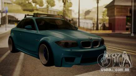 BMW 1M E82 with Sunroof para GTA San Andreas