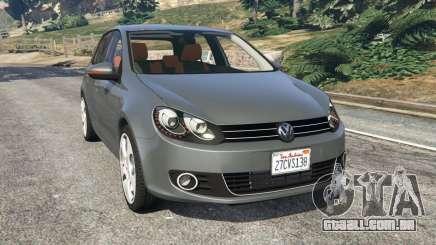 Volkswagen Golf Mk6 v2.0 para GTA 5