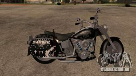 Harley Davidson Fat Boy Sons Of Anarchy para GTA San Andreas