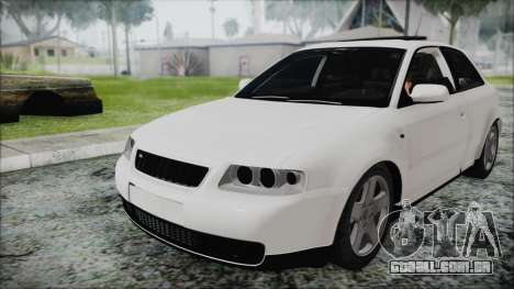Audi A3 1.8 S3 para GTA San Andreas vista direita