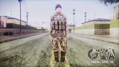 World In Conflict Malashenko Winter para GTA San Andreas segunda tela