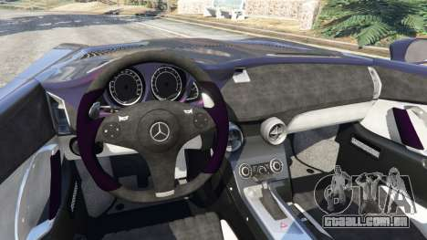 GTA 5 Mercedes-Benz SLR McLaren Stirling Moss traseira direita vista lateral