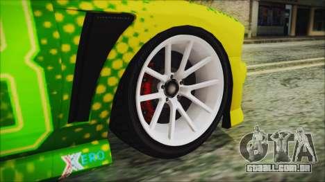 GTA 5 Bravado Buffalo Sprunk para GTA San Andreas traseira esquerda vista