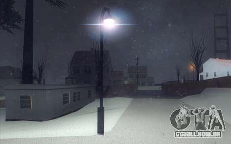 Winter Vacation 2.0 SA-MP Edition para GTA San Andreas nono tela