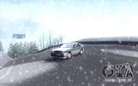 Winter Vacation 2.0 SA-MP Edition para GTA San Andreas sétima tela