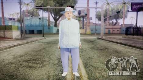 World In Conflict Old Lady para GTA San Andreas segunda tela