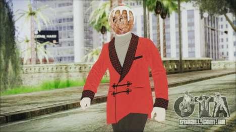 Skin DLC Executive Xmas para GTA San Andreas