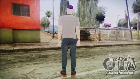 GTA Online Skin 1 para GTA San Andreas terceira tela
