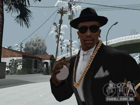 Jogando neve para GTA San Andreas