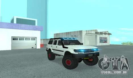 Toyota Autana 4500 off-road LED para GTA San Andreas