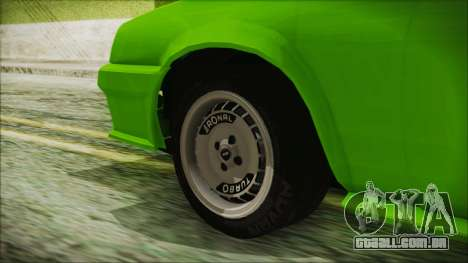 Opel Manta New Kids HQ para GTA San Andreas traseira esquerda vista