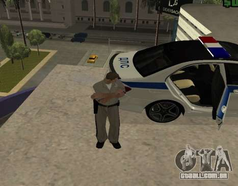 New Animations para GTA San Andreas por diante tela