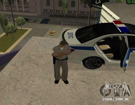 New Animations para GTA San Andreas por diante tela