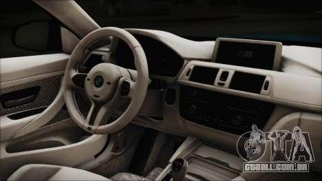 BMW M4 2014 Liberty Walk para GTA San Andreas vista direita