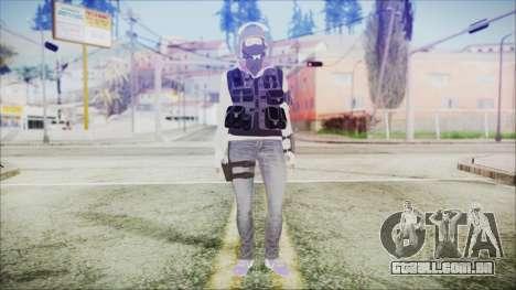 Rainbow Six Siege GSG9 IQ para GTA San Andreas segunda tela