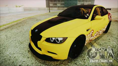 BMW M3 GTS 2011 IVF para o motor de GTA San Andreas