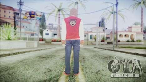 GTA Online Skin 34 para GTA San Andreas terceira tela