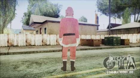 GTA 5 Santa Americano Africano para GTA San Andreas terceira tela