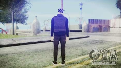 GTA Online Skin 59 para GTA San Andreas terceira tela