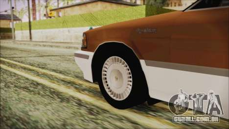 Toyota Crown Royal Saloon 1994 para GTA San Andreas traseira esquerda vista