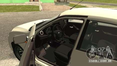 Lada Kalina 2 - Granta para GTA San Andreas traseira esquerda vista